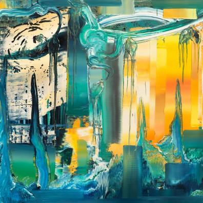 2016, Öl auf Nessel,120 x 140 cm