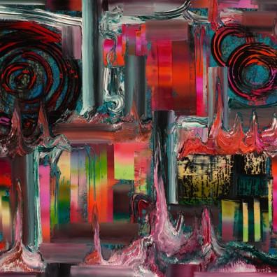 2016, Öl auf Nessel, 180 x 240 cm