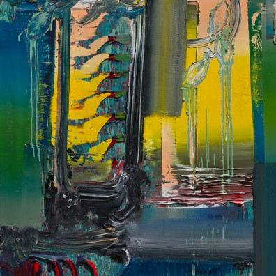 2015, Öl auf Nessel, 120 x 90 cm
