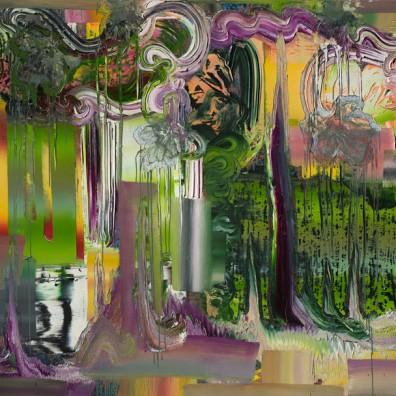 2016, Öl auf Nessel, 160 x 210 cm