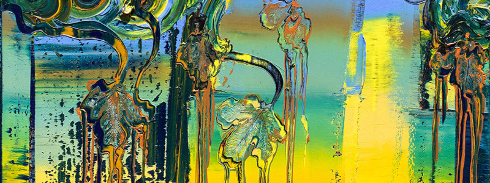 Brixy, Happy, 2020, Öl auf Nessel, 80 x 80 cm