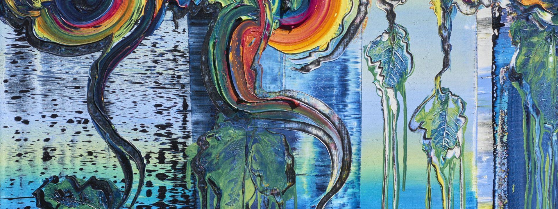Brixy, Happy, 2020, Öl auf Nessel, 100 x 80 cm