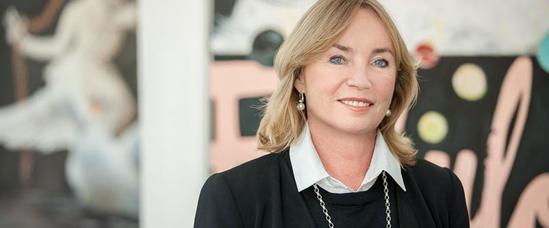 Galeristin Barbara von Stechow