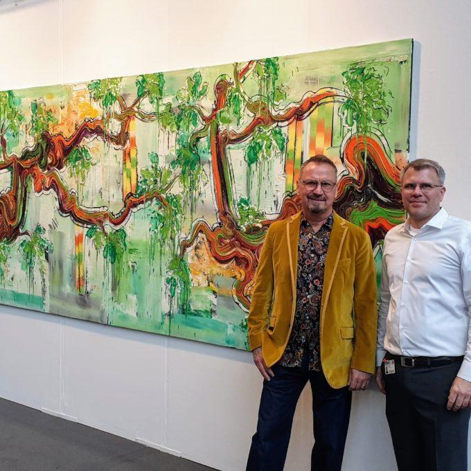Galerist Christian Marx & Dietmar Brixy