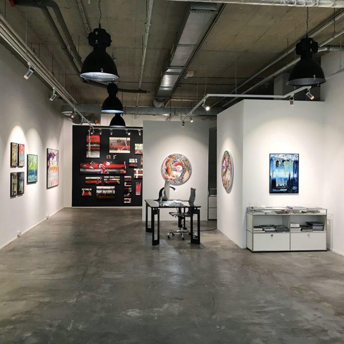 Ausstellungsansicht Christian Marx Galerie